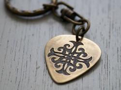 ainu keychain pick shaped