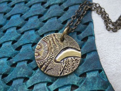 jellyfish pendant