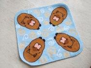 Capybara towel